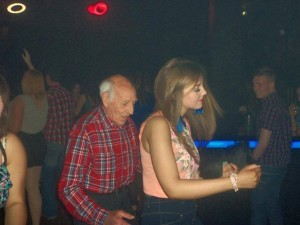 old guy in the club