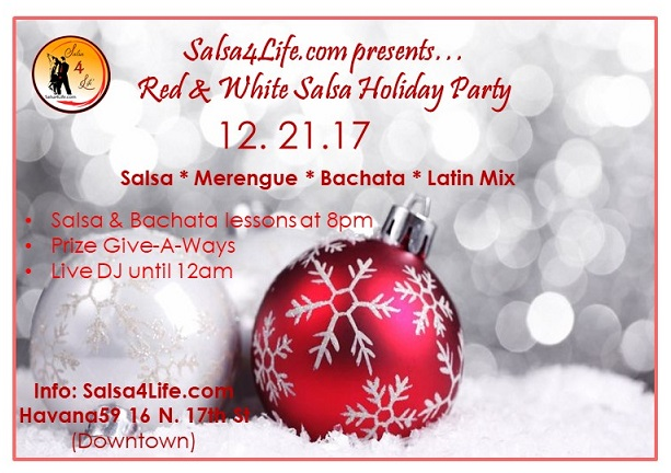 Holiday Salsa dance party