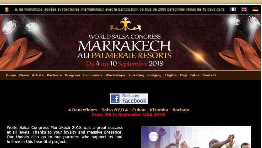 Salsa Congress Marrakech