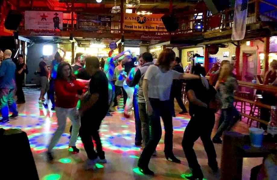 Salsa Dancing at Silver Spur