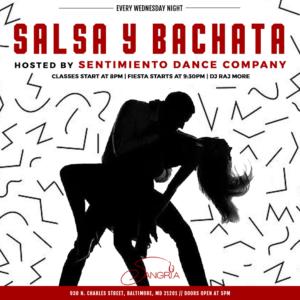 Salsa Wednesdays at Sangria Patio Bar