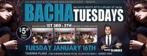 Bachata Tuesdays at Tavern Plaka