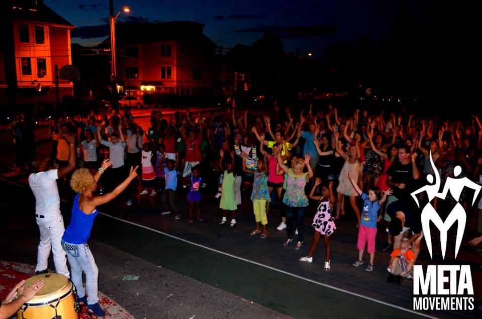 Salsa Mondays at Blackstone Community Center