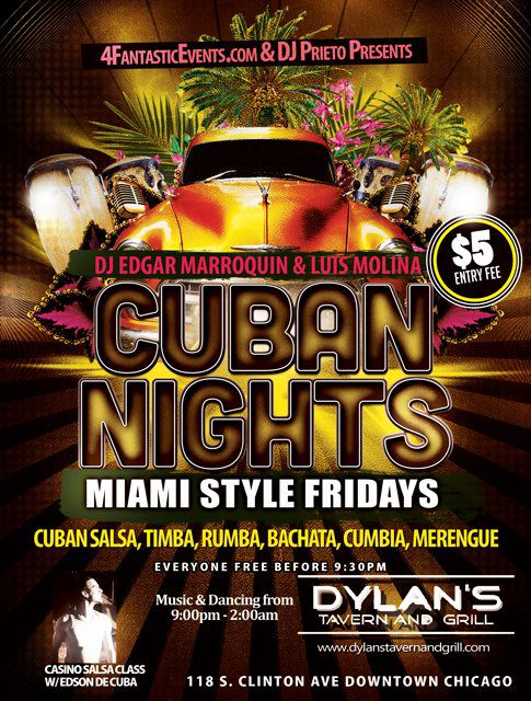Salsa Fridays at Dylan's Tavern and Grill