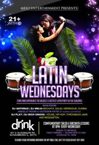 Latin Wednesdays at Drink
