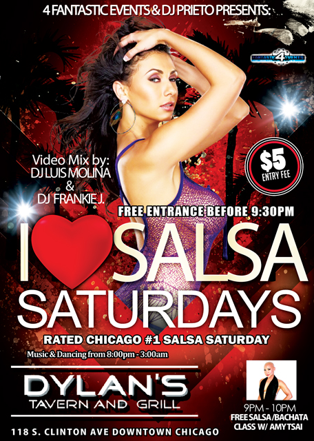 Salsa Saturdays at Dylan's Tavern and Grill