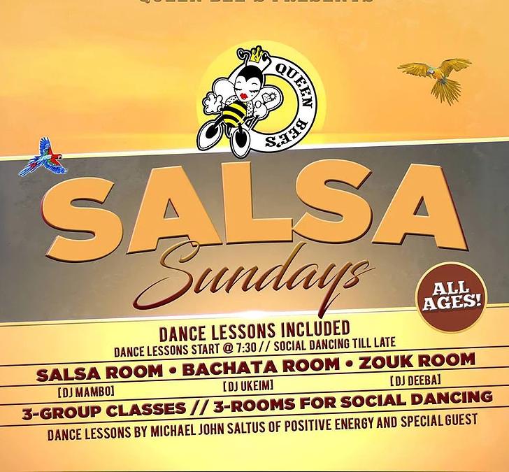 Salsa Sundays at Queen Bee