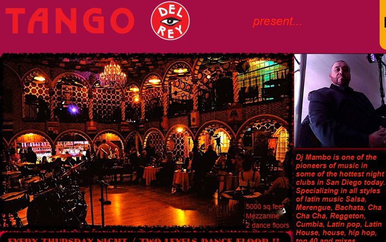 Latin Thursdays at Tango del Rey