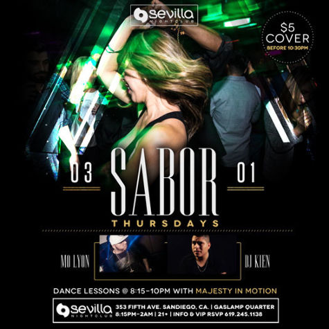 Latin Thursdays at Sevilla Nightclub