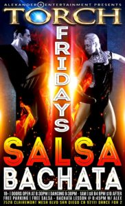 Salsa Bachata Fridays at Torch