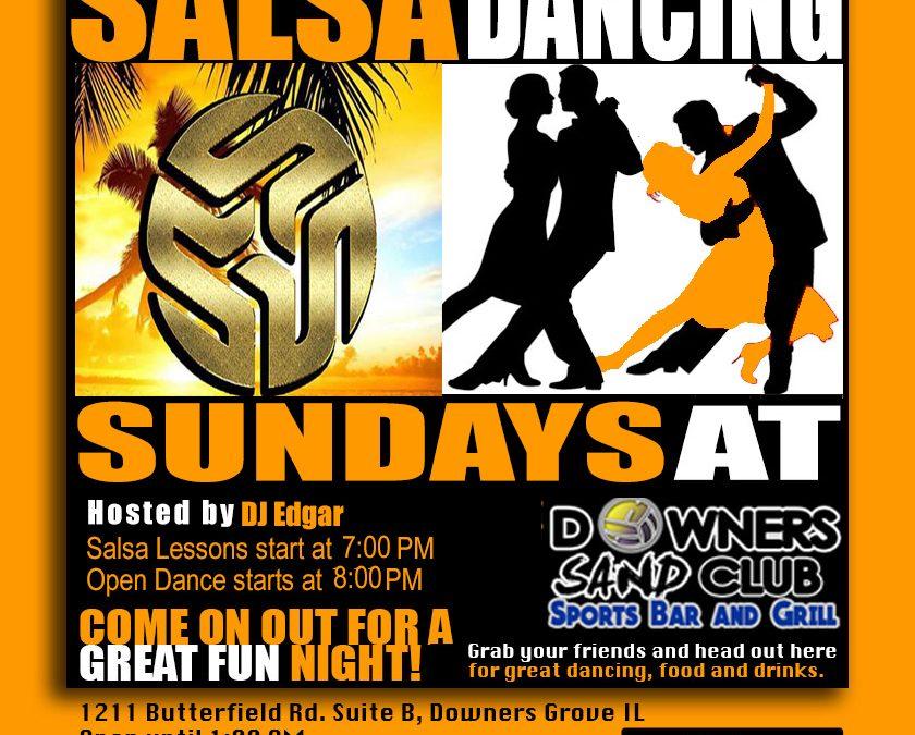 Salsa Dancing at Sands