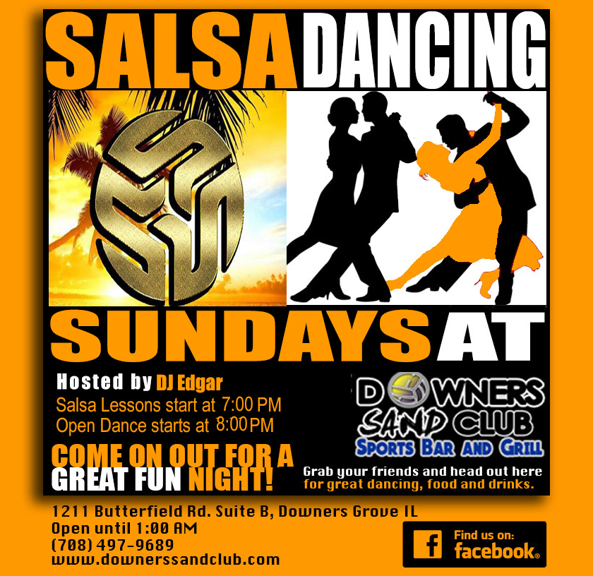 Salsa Dancing at Sands