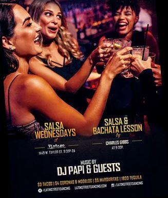 Salsa Wednesdays at Vintage Bar