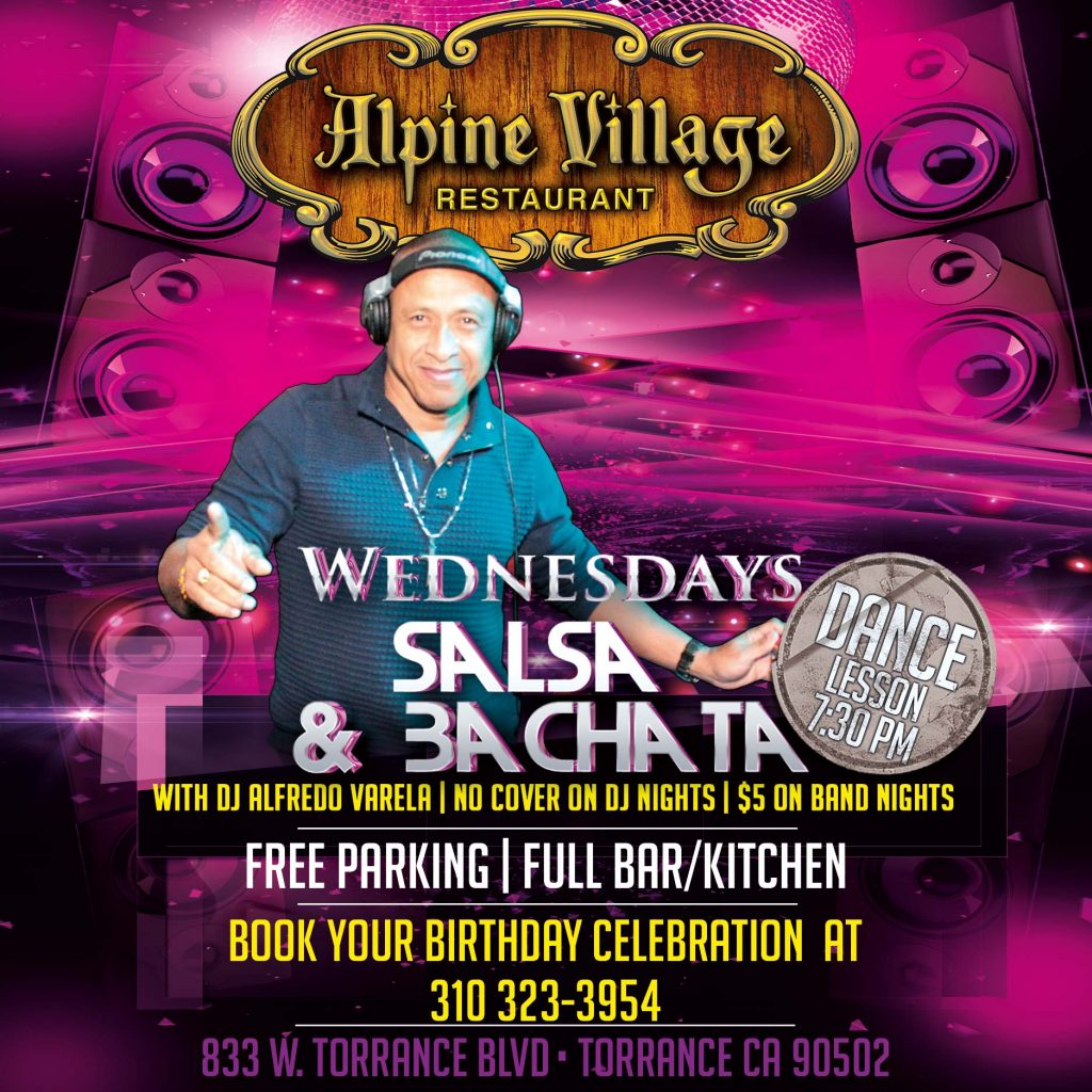 Salsa Wednesdays at Alpine Village