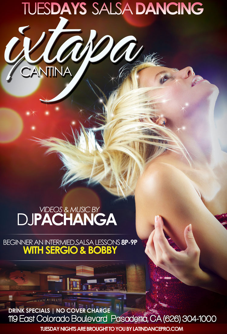 Pasadena Salsa Dancing