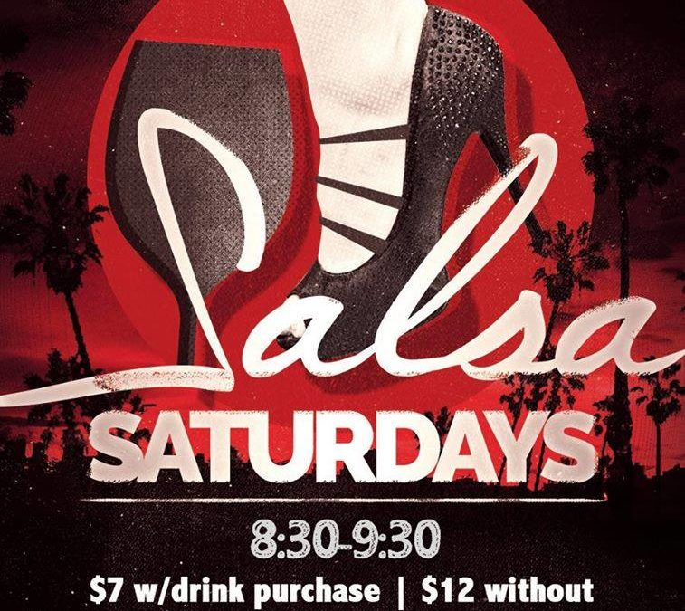 Salsa Saturdays at Cigar Bar and Grill