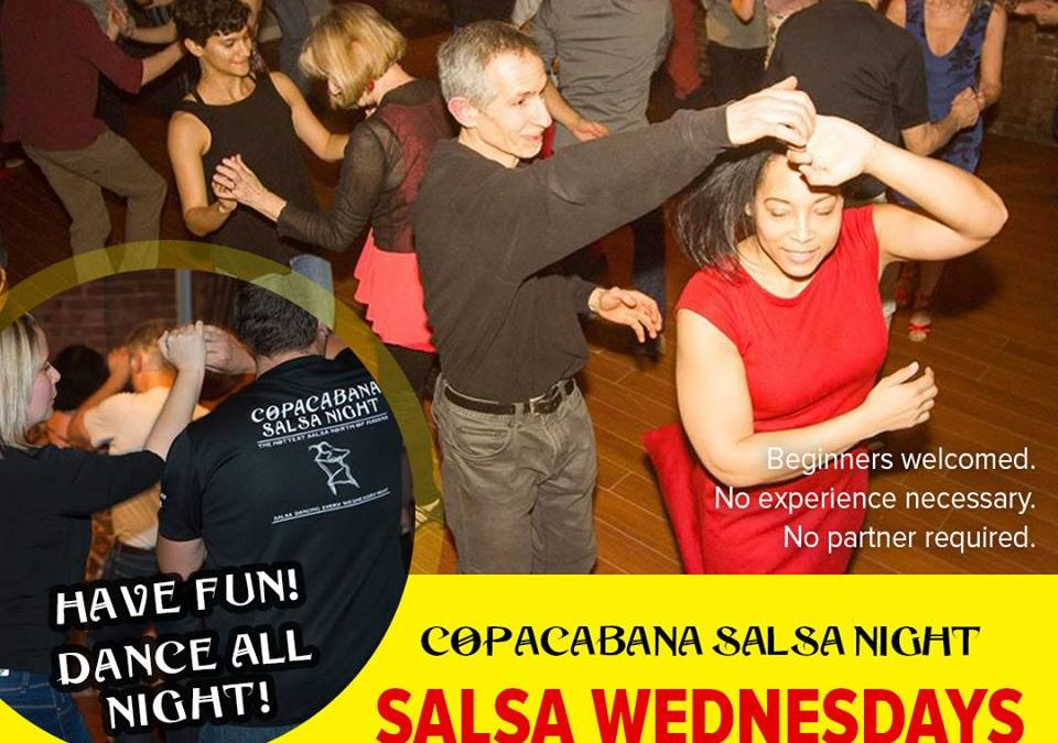Salsa Dancing at Bella Vita Dance Studio