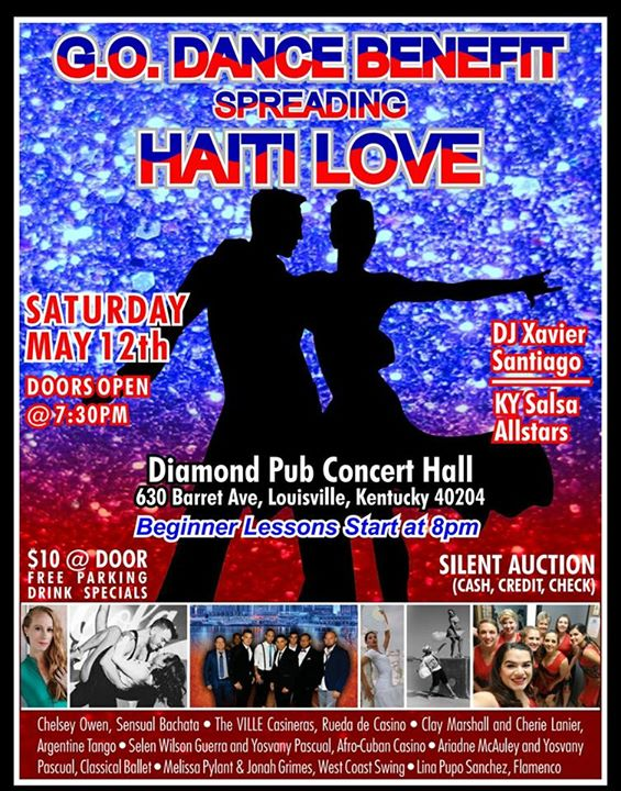 Dancing With Haitians At La Fete De >> Mcda Goes To G O Dance Benefit Salsa4life