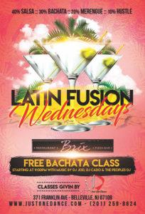 Salsa Wednesdays at Brix Restaurant