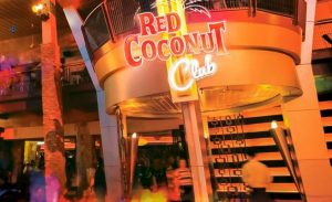 Latin Dancing at Red Coconut Club
