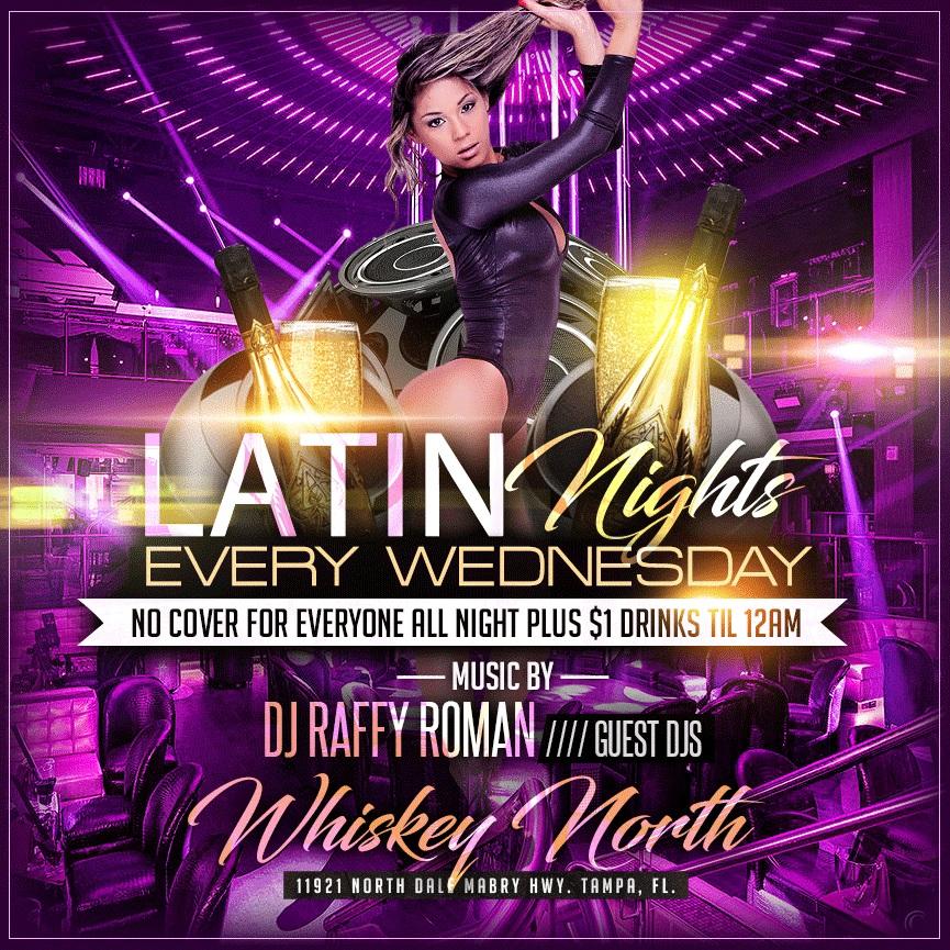 Latin Wednesdays at Whiskey North