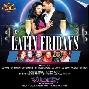 Latin Fridays at Whiskey North