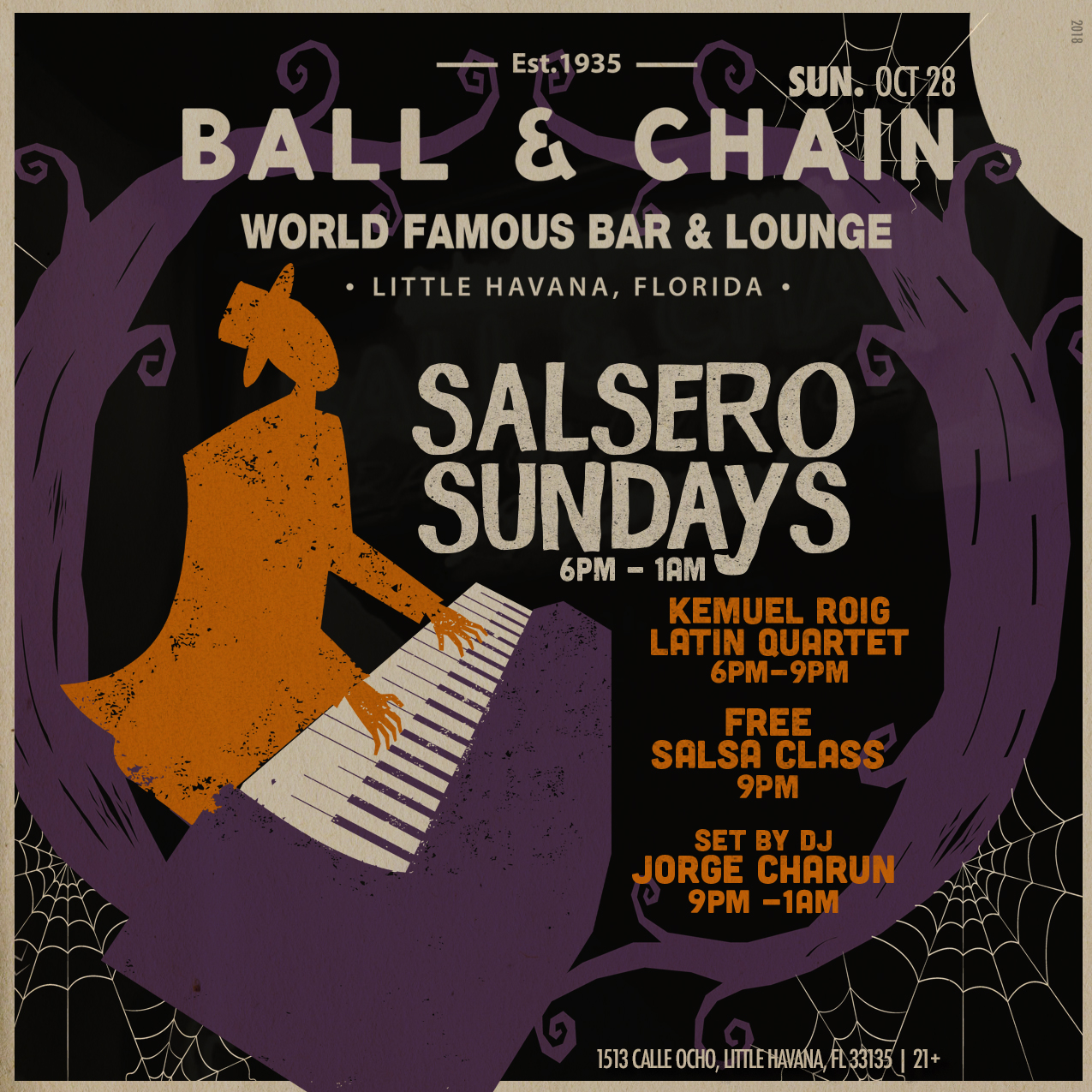 Salsa Sundays at Ball & Chain