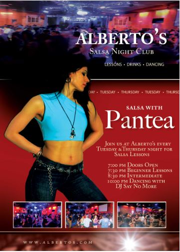 Salsa Tuesdays at Alberto's Nightclub