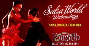 Salsa Wednesdays at The Roundup