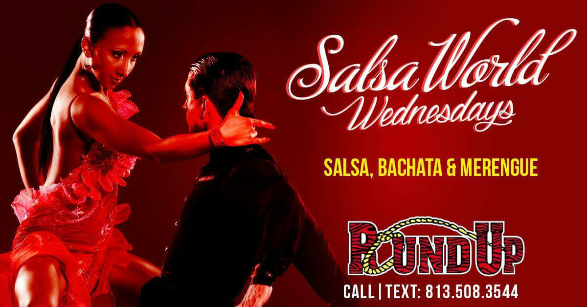 Salsa Wednesdays at The Roundup