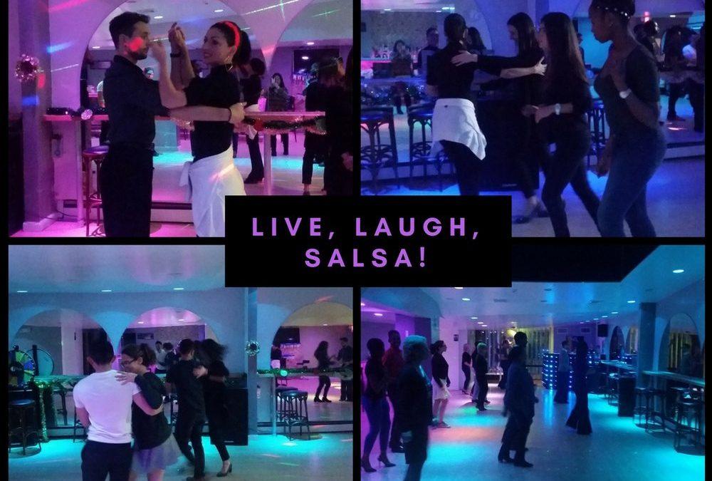 Latin Dancing at Social Club