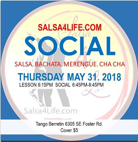 Santa Fe Salsa dance social