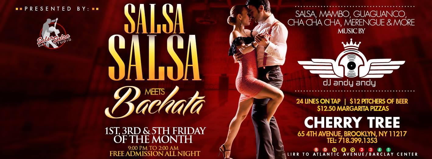 Salsa Friday at Cherry Tree