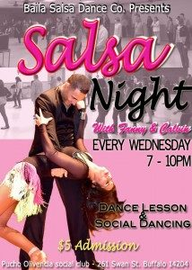 Salsa Wednesday at The Pucho Olivencia Center