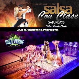 Salsa Saturdays at Isla Verde Cafe