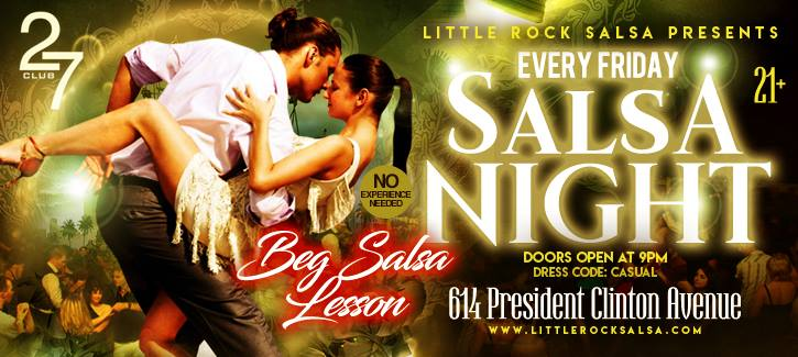 Little Rock Salsa Bachata Dancing