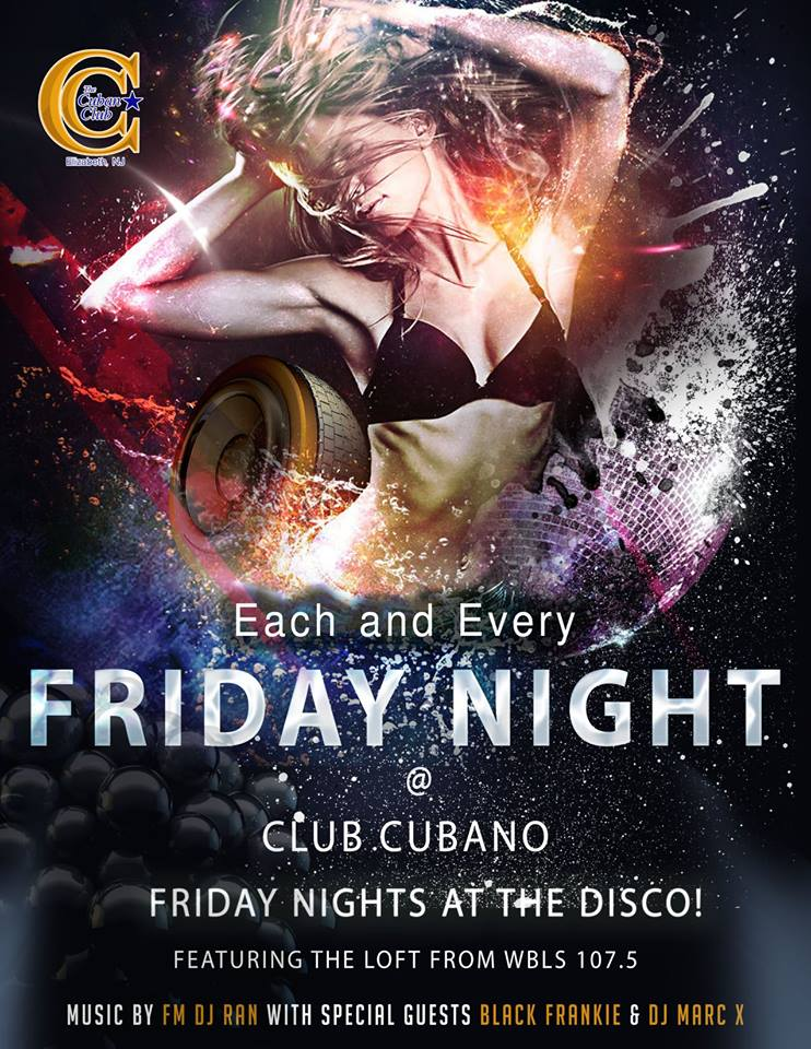 Salsa Fridays at Club Cubano