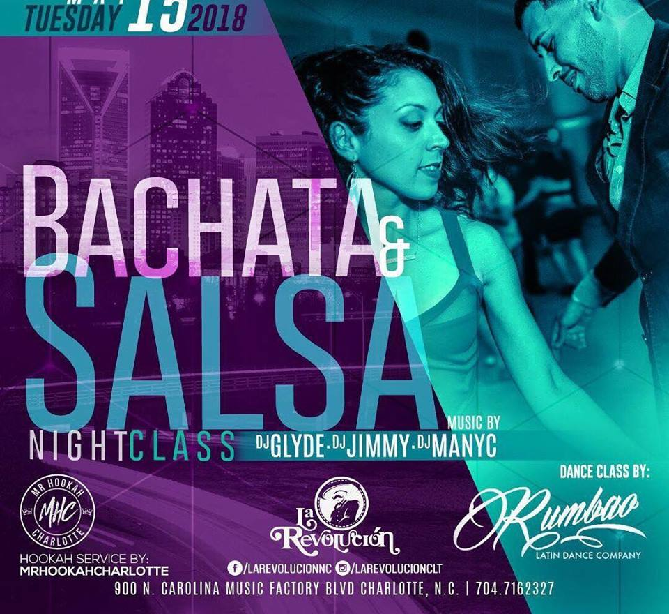 Bachata Tuesdays at La Rev
