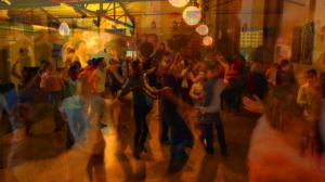 Salsa Dancing at Living Arts Collective