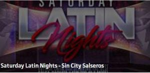 Latin Saturdays at Sin City Salseros