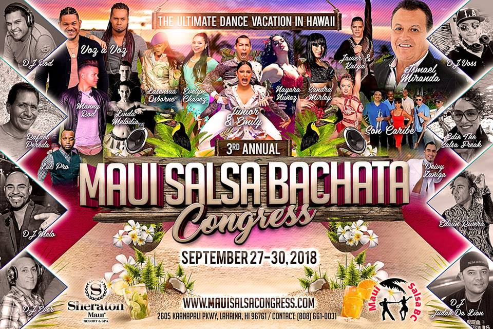 Lahaina Salsa Bachata Congress