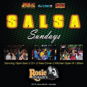 Salsa Sundays at Rosie O'Grady's