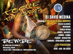 Latin Thursdays at Toque