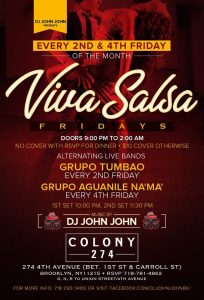 Salsa Fridays at Colony 274