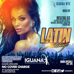Salsa Sundays at Iguana NYC